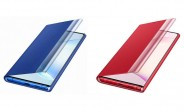 New case renders show the Galaxy Note10 in Aura Red and Aura Blue