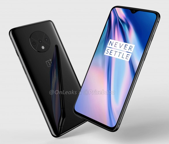 Check out these renders of the OnePlus 7T with a triple camera setup