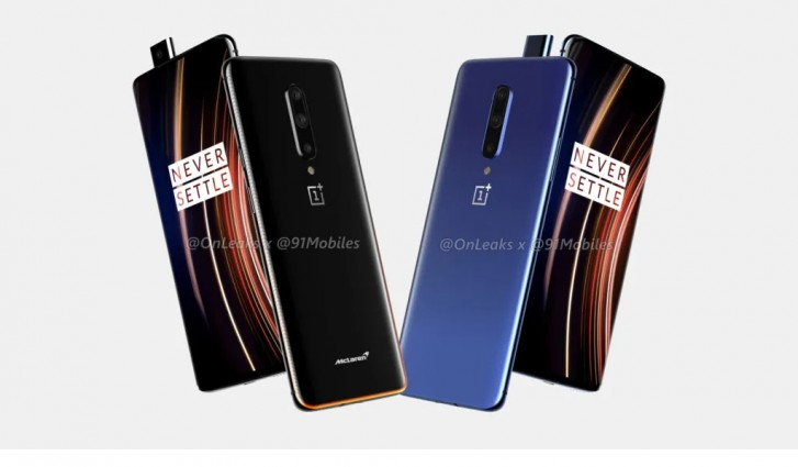 OnePlus 7T Pro leaks in CAD-based renders, McLaren Edition too