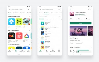 Google Play Store redesign now officially available for everyone