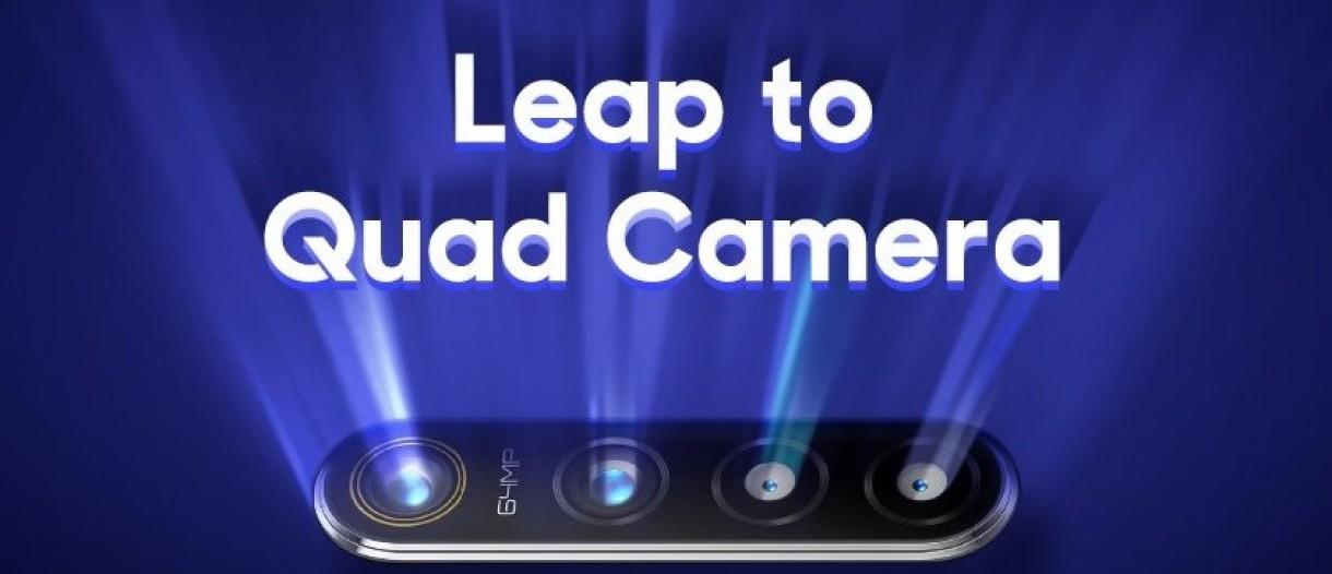 64MP quad-cam flagship to be called Realme 5, CEO confirms