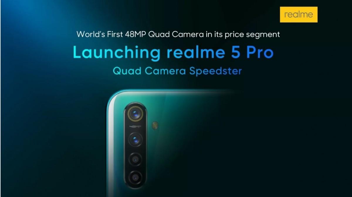 تسريب مواصفات Realme 5 و 5Pro مع تصميمها 1