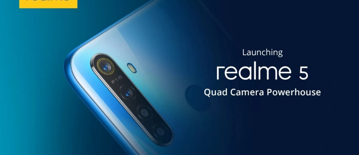 Realme 5 5 Pro Design And Key Specs Revealed Gsmarena Com News