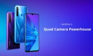 Realme 5 goes on sale in India