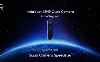 Realme 5 Pro confirmed to sport a 48MP Sony IMX586 sensor
