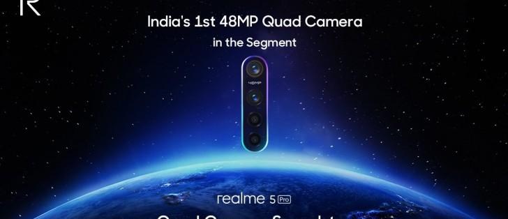 Realme 5 Pro confirmed to sport a 48MP Sony IMX586 sensor