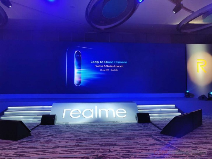 The Realme 5 and 5 Pro goes official in India