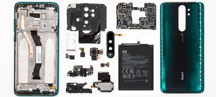 Redmi Note 8 Pro teardown shows a heat pipe for the Helio G90T chipset