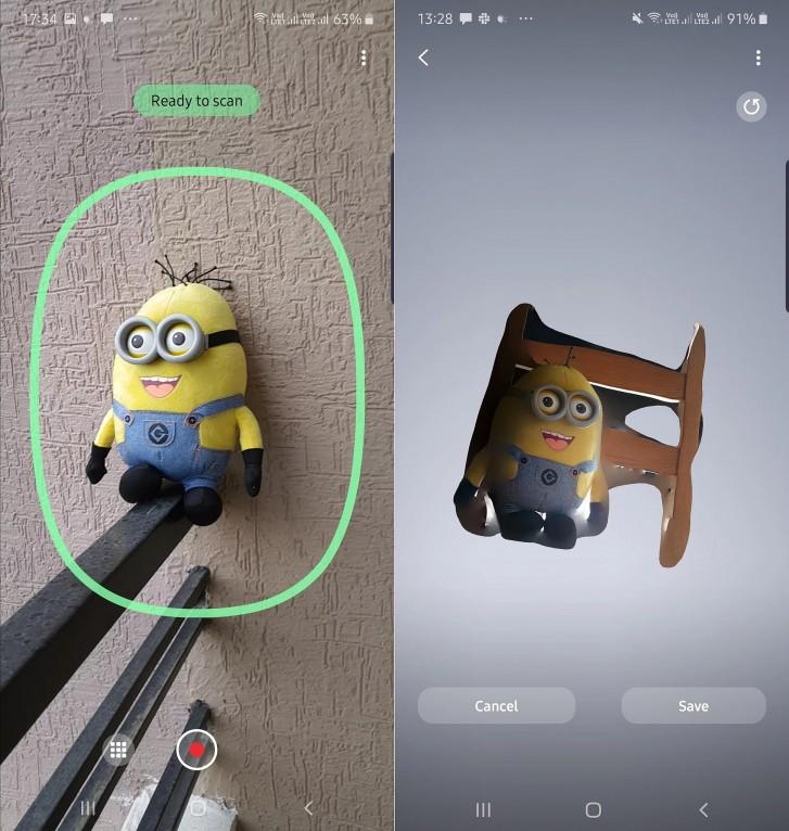 Samsung lança aplicativo de scanner 3D para o Galaxy Note 10+