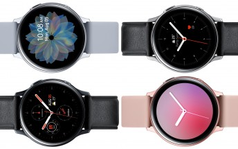 High-res renders of the Samsung Galaxy Watch Active 2 are now out