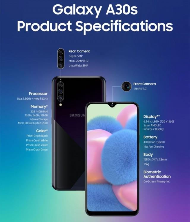 الإعلان رسمياً عن Galaxy A50s و A30s من سامسونج 1