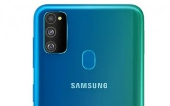 Samsung Galaxy M30s surfaces a in Blue-Green gradient