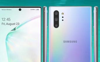 Samsung Galaxy Note10+ 5G logistics box leaks