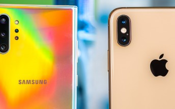 Samsung Galaxy Note10+ handily defeats Apple iPhone XS Max in a speed test