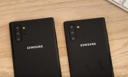 Samsung Galaxy Note10 dummies confirm screen sizes