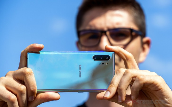 The Samsung Galaxy Note10+ in for review, plus camera samples