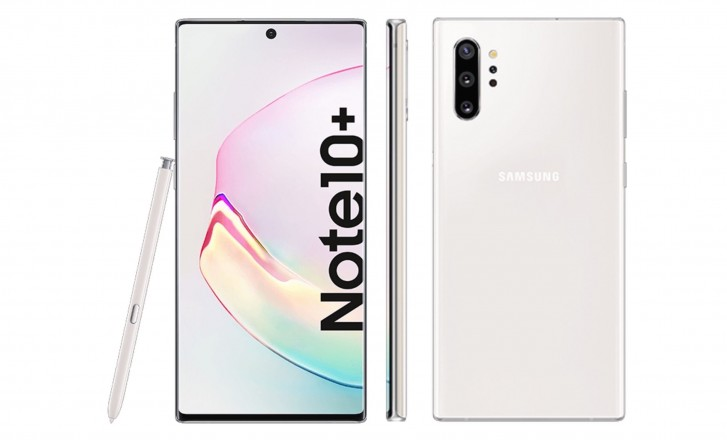 Samsung Galaxy Note10+ prototype spotted out in the wild