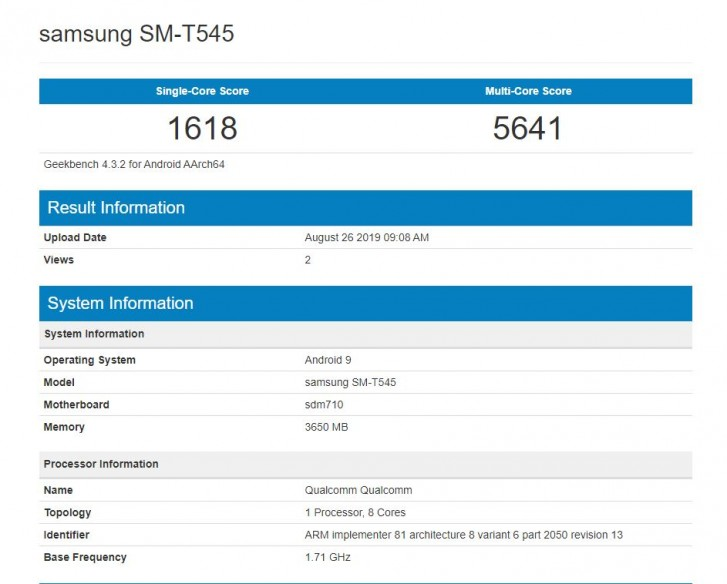 Alleged Samsung Galaxy Tab Active Pro 10.1 gets certified by FCC and Wi-Fi Alliance
