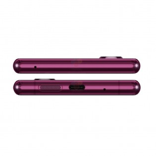 The top and bottom of the Sony Xperia 2