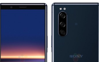 Sony Xperia 2 leaked renders show the phone from multiple angles