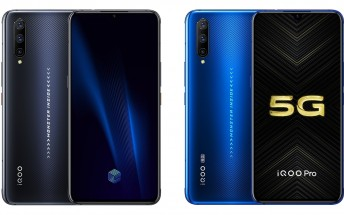 vivo iQOO Pro and iQOO Pro 5G get official with Snapdragon 855+, 44W fast charging
