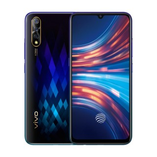 vivo S1 in Diamond Black and Skyline Blue