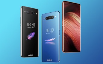 nubia Z20 now available for purchase