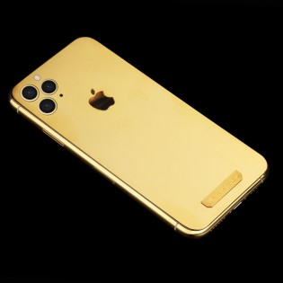 iPhone 11 Pro with 18k coated back panel