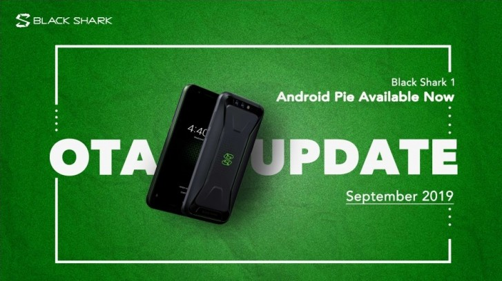First-gen Black Shark starts receiving Android Pie update