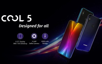 Coolpad Cool 5 announced with Helio P22 SoC, 6.22