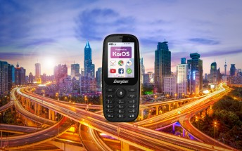 Energizer E241 and E241S are cheap feature phones running KaiOS