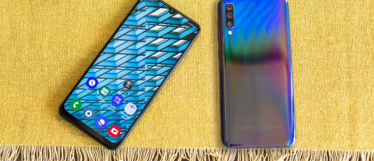 Samsung Galaxy A50 update improves touchscreen performance