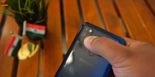 Samsung Galaxy M30s: redesigned triple camera
