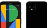 Google Pixel 4 shines in an official-looking press render