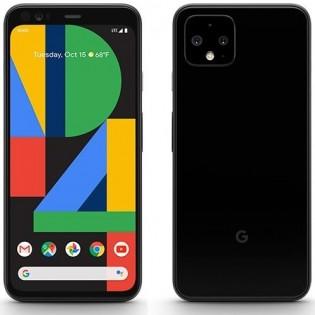 Google Pixel 4 in Just Black color
