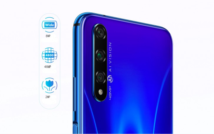 Honor 20S goes official: a more affordable Kirin 810-powered version of the Honor 20