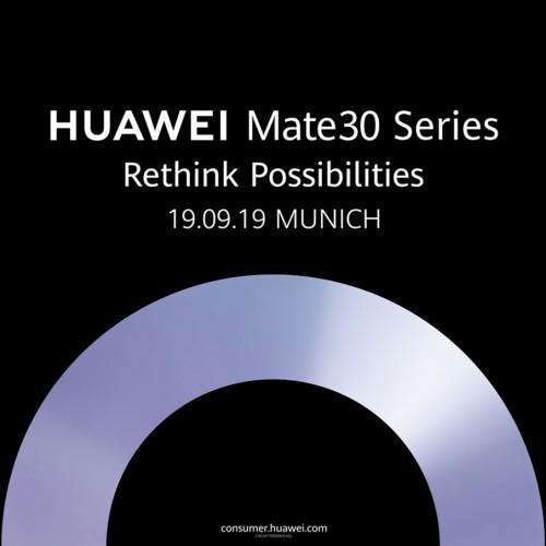 How to livestream tomorrow's Huawei Mate 30 event