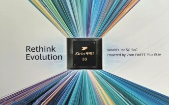 Huawei billboard at IFA 2019 confirms Kirin 990 arrival