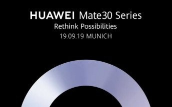 Huawei Mate 30 is arriving for real on September 19