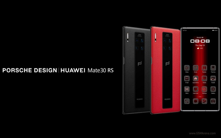 Huawei and Porsche cooperate to bring Porsche Design Mate 30 RS