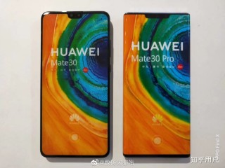 Image result for Huawei Mate 30 series in hand pictures and specs leak