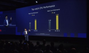 Performance and efficiency comparison with the Snapdragon 855