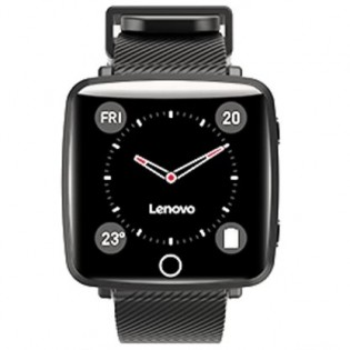 Lenovo Carme with Black-colored rubber strap