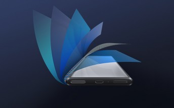 The unique display of the Xiaomi Mi Mix Alpha was made by Visionox