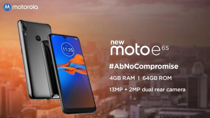 Motorola Moto E6s coming to India on September 16