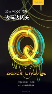 Realme Q: 20W VOOC fast charging