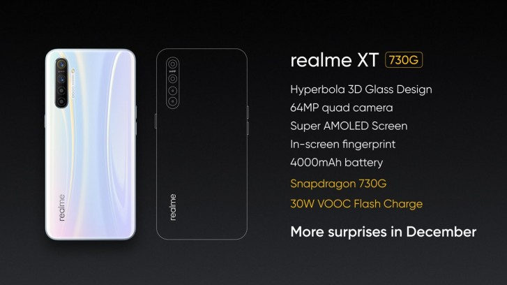 Realme teases an upgraded XT with Snapdragon 730G