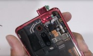 JerryRig teardown of Redmi K20 Pro shows rubber seals, transparent version shows off the pop-up cam