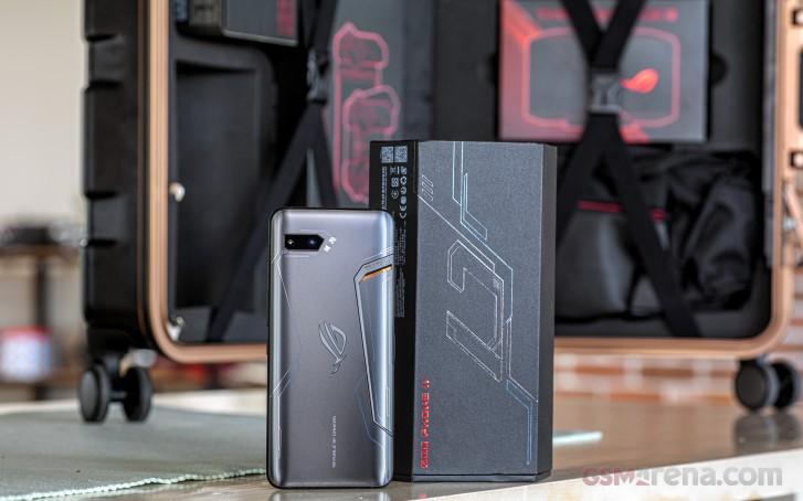 Asus ROG Phone II : Snapdragon 855+ benchmarks