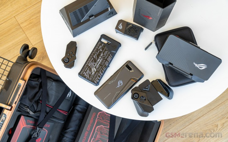 Asus ROG Phone II Ultimate Edition in for review